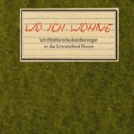 Cover-Wo ich wohne