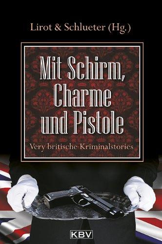 Cover-Mit Schirm Charme und Pistole
